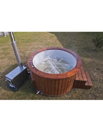 Glasfiber badekar eksklusiv 160 cm
