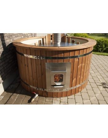 Integrerrede ovn med glaslåge 28 kW, Rustfrit stål AISI 430