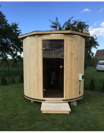 Sauna - Tønneformede