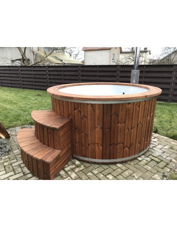 Udendørs glasfiber hot tub 1,82 m