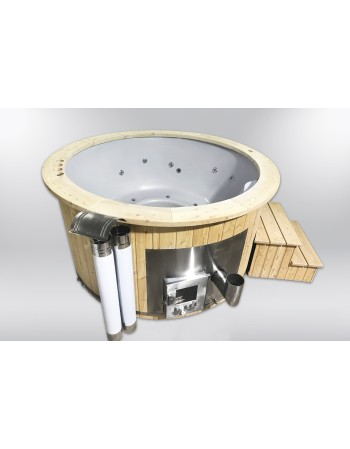 Royal 180cm hot tub fra glasfiber