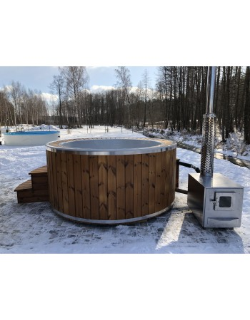 190cm badekar med overløbssystem !!!