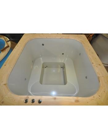Standard badekar mål