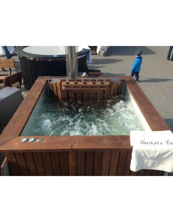 Luftboble massage system