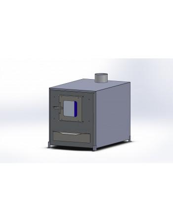 Išorinė aliuminio krosnelė 35 kW