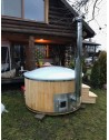 Royal wellness badetønder integrerrede ovn 1,8 m