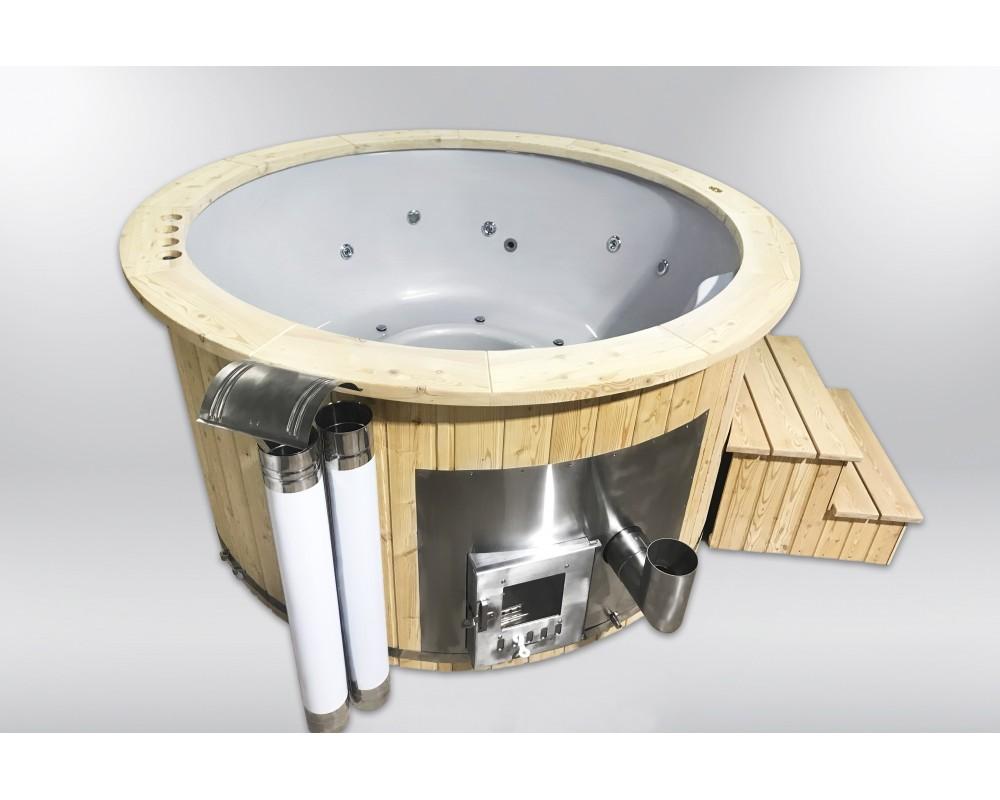 Royal 180cm hot tub fra glasfiber
